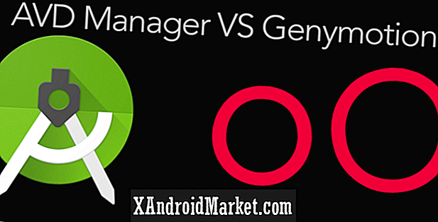 Android virtuele apparaten: AVD Manager versus Genymotion