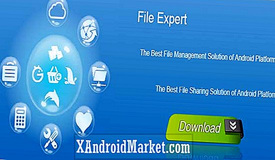 File Expert: Gestion de fichiers Android facile avec le support de Dropbox et Box.net