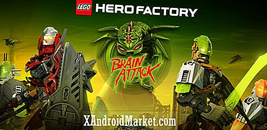 LEGO Hero Factory Brain Attack anländer tidigt på Google Play