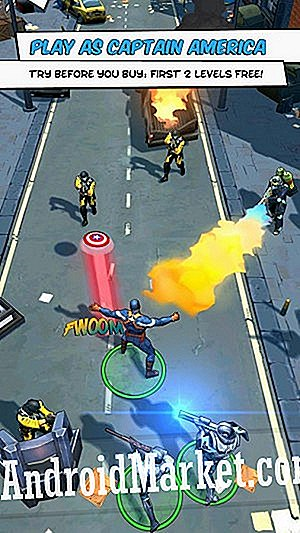 Captain America: Winter Soldier rammer Android gratis