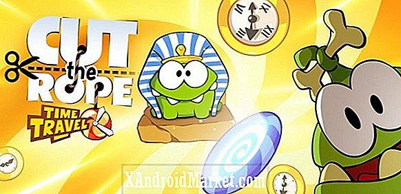 Cut the Rope: Le voyage dans le temps arrive sur Google Play