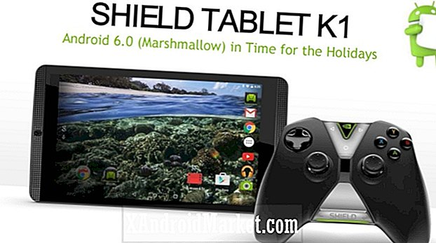 Android Tablet Marshmallow en los próximos meses. Shield Tablet and Tablet