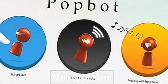 Application PopBot pour Android: Identification et enregistrement de chansons de stations de radio Internet