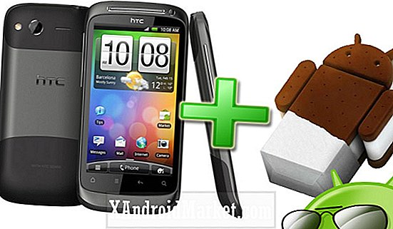 Slik installerer Ice Cream Sandwich til HTC Desire S