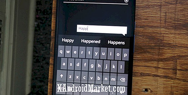 Microsoft pourrait amener le clavier Word Flow de Windows Mobile sur Android