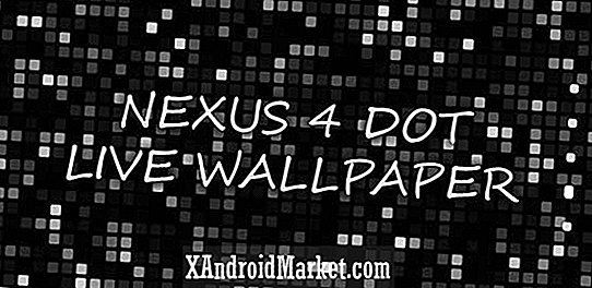 Nexus 4 Dot Live Wallpaper est maintenant gratuit dans le Google Play Store