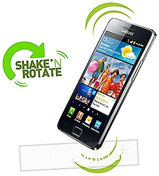 Shake 'n Rotate: basculer la rotation automatique en secouant