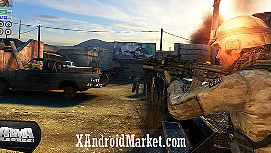 Arma Tactics om NVIDIA's Project Shield-gameconsole te starten