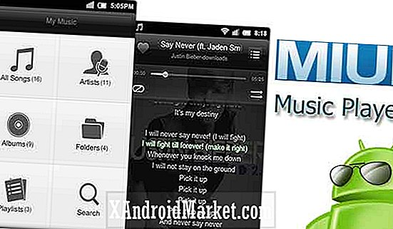 MIUI Music Player, selv for ikke-MIUI-telefoner