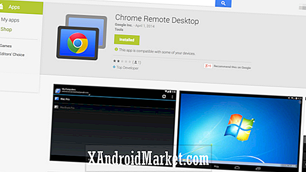 Google Chrome Remote Desktop para Android, invitar solo por ahora