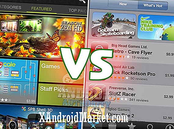Google Android Market VS Apple iTunes App Store