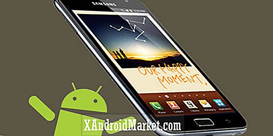 Lækst Galaxy Note Android 4.1.2 Jelly Bean opdatering til download, firmware version N7000XXLSA