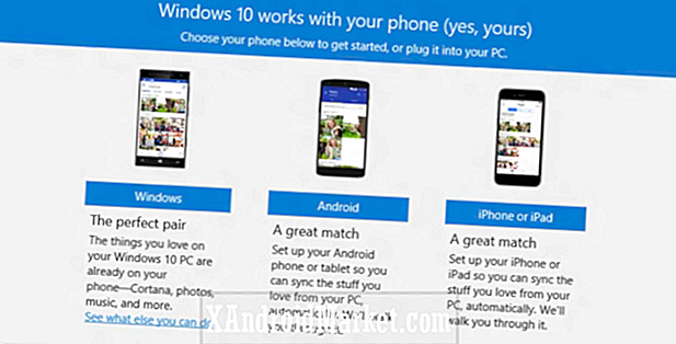 Microsoft til at skubbe sine platforme apps med Windows 10 telefon companion