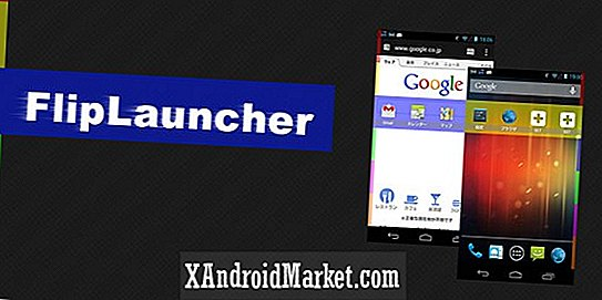 FlipLauncher: Multitasking launcher for rask app tilgang