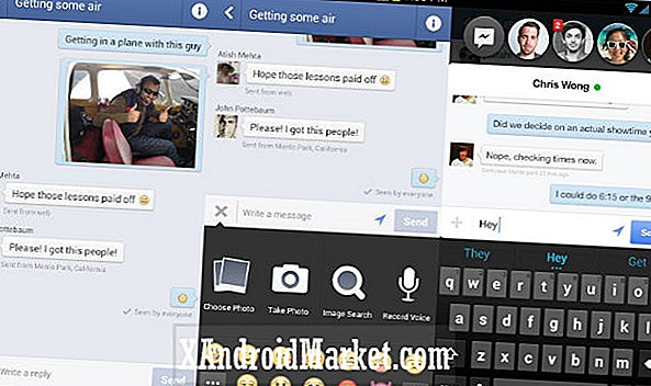 Chat Heads arrive sur l'application Facebook Android Messenger via une mise à jour