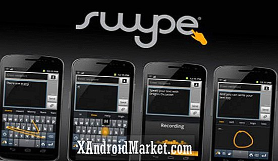 Swype Beta 1.0.3.5809: Clavier vivant et d'apprentissage capable de 4 modes de saisie de texte