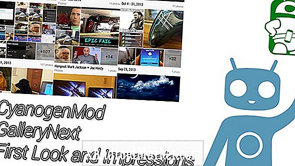 CyanogenMod GallerySiguiente - Look and impressions (video)