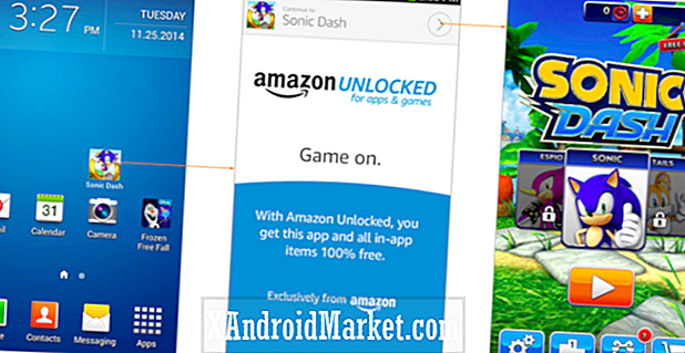 "Amazon reportedly lanceret ""Unlocked"" tjeneste for gratis gratis betalte apps gratis"