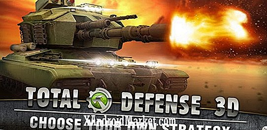 Total Defense 3D raakt de Google Play Store