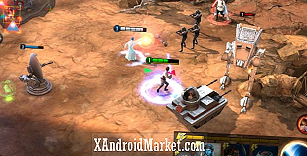 Star Wars Force Arena biedt MOBA en card-style gameplay op Android