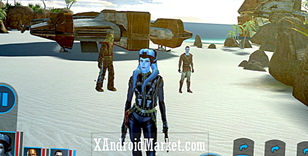 Star Wars: Ridders of the Old Republic af lande på Android