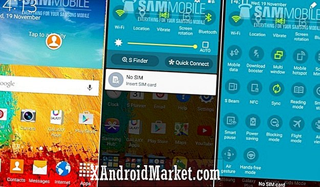 Video: Android 5.0 Lollipop kører på Samsung Galaxy Note 3