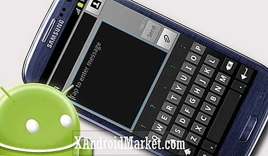 Samsung Galaxy S3 GT-I9300: Installation af lager ICS Keyboard
