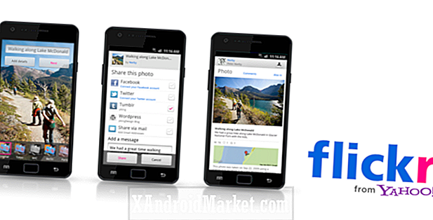 Yahoo!  Apporte l'application Flickr sur l'Android Market