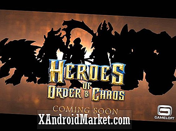 Gameloft å lansere free-to-play Heroes of Order & Chaos i oktober