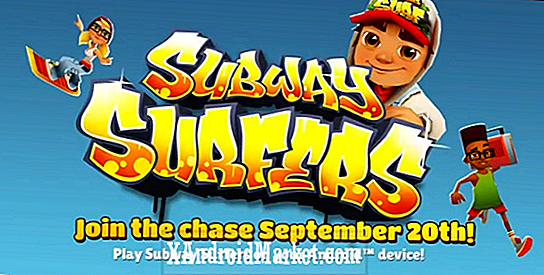 Subway Surfers inn i Google Play Butikken [video]