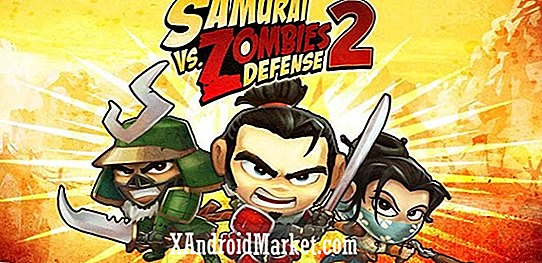 Glu Mobiles nye spill, Samurai vs Zombies Defense 2, lanserer på Google Play