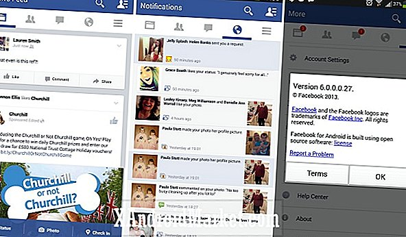 Facebook for Android Alpha build luce un nuevo look