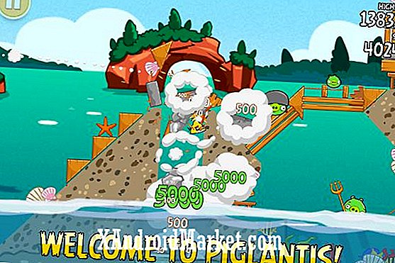 Actualización de Angry Birds Seasons 'Piglantis' ya disponible