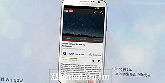 Hvilke apps understøtter Samsung Galaxy Note 2's multi-window-funktion?