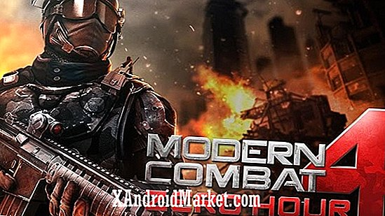 Modern Combat 4: Zero Hour ahora disponible a través de Google Play