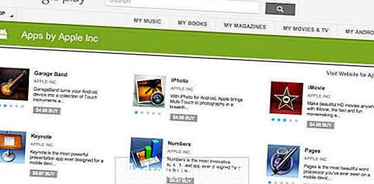 Aplicaciones falsas de Apple llegan a Google Play Store: iMovie, iPhoto, GarageBand y la suite iWork