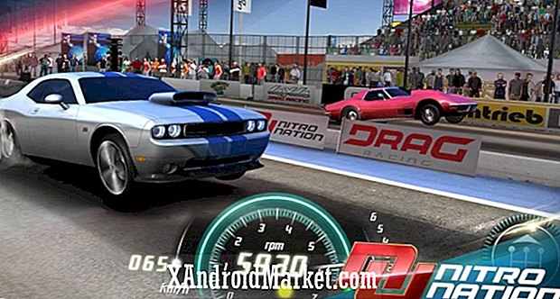 Nitro Nation Online, Google Play, des fabricants de 'Drag Racing'