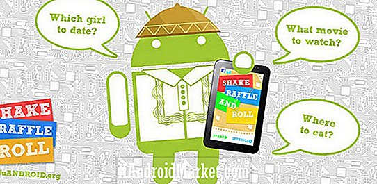 Examen de l'application: Shake, Raffle and Roll