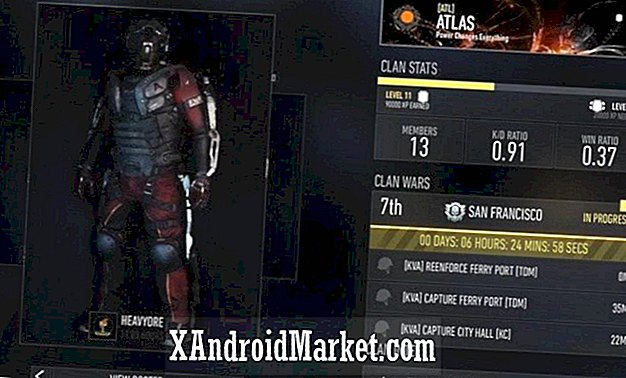 Companion-app for Call of Duty Advanced Warfare tilgjengelig på Google Play