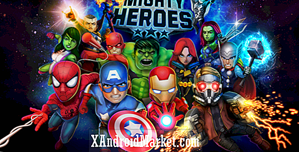 Marvel Mighty Heroes de DeNA se bat pour le Google Play Store