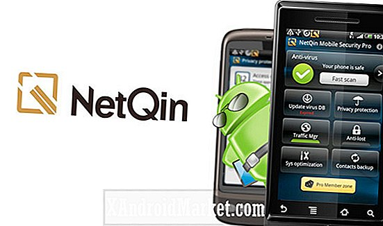 Examen des applications Android: NetQin Mobile Security