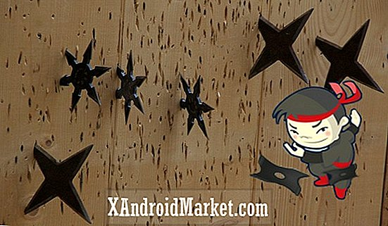 Ninja Camp: Addictive shuriken-kaster spill for Android