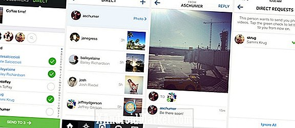 Instagram introducerer ny 'Direkte' MMS messaging service med Instagram 5.0