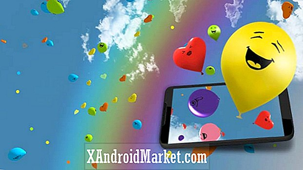 Balloons 3D live wallpaper - Application indépendante du jour