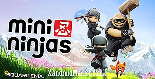 "Plein runnerspel Mini Ninjas is op Google Play voor ""gratis"""
