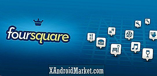 Foursquare voor Android-update