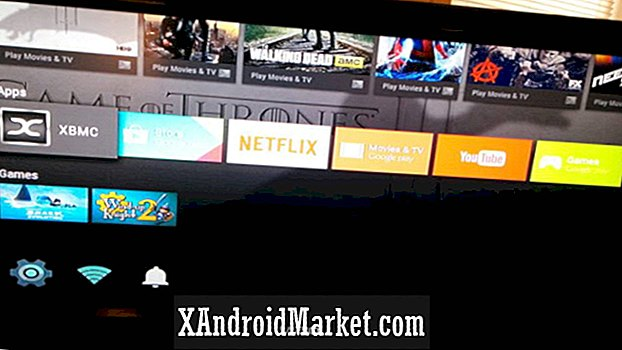 XBMC is gespot op Android TV