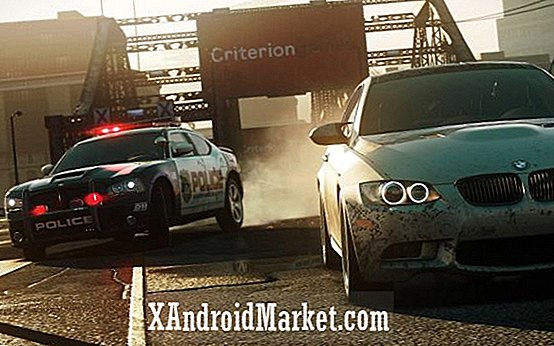 Need for Speed: Most Wanted 2012 rubriken till Android den 30 oktober