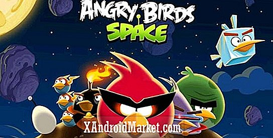 Angry Birds Space is in Google Play Store en Amazon Appstore!