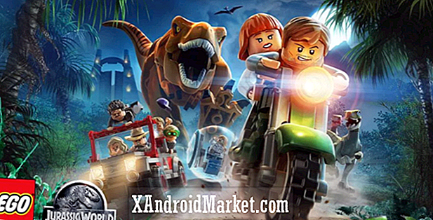 LEGO Jurassic World lander i Google Play Butik